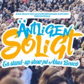 Äntligen Soligt – Stand-up show på Åhus Beach