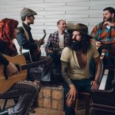 Ted Z and the Wranglers(US) + Patrik Strands El-kvartett