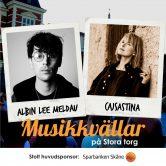 Musikkväll med Albin Lee Meldau & CajsaStina
