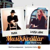 Musikkväll med Plura & Lovisa Linde