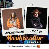 Musikkväll med Linnea Henriksson & Linus Flink