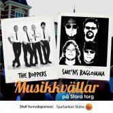 Musikkväll med The Boppers & Sme'ns Baglomma